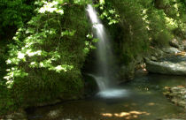 Potami waterval op Evia