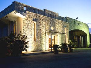 Lykos wijnhuis in Malakonda Evia