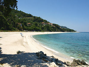 Pilion Papa Nero beach