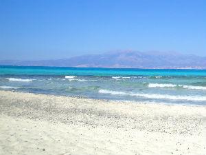 Chrissi een van de mooiste stranden van Kreta