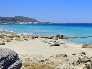 Falasarna een van de mooiste stranden van Kreta