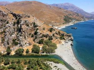 Preveli beach bij de mooiste van Kreta
