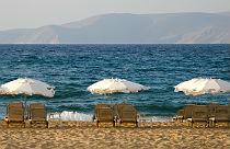 Kokkini Chani beach op Kreta