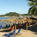 Strand van Alykes tijdens vakantie Zakynthos
