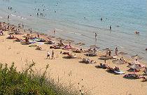 Gerakas beach op Zakynthos