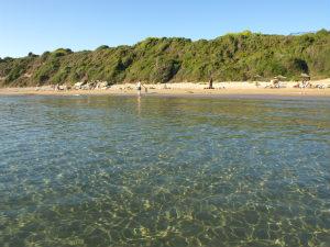 Heldere zee van Gerakas bach Zakynthos
