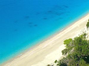 Egremni beach op Lefkas mooiste strand