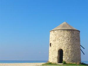 Mili beach op Lefkas