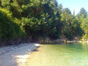 Mooiste stranden van Lefkas bij Nidri Skorpios eiland