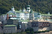 Athos cruise Agios Panteleimonas klooster