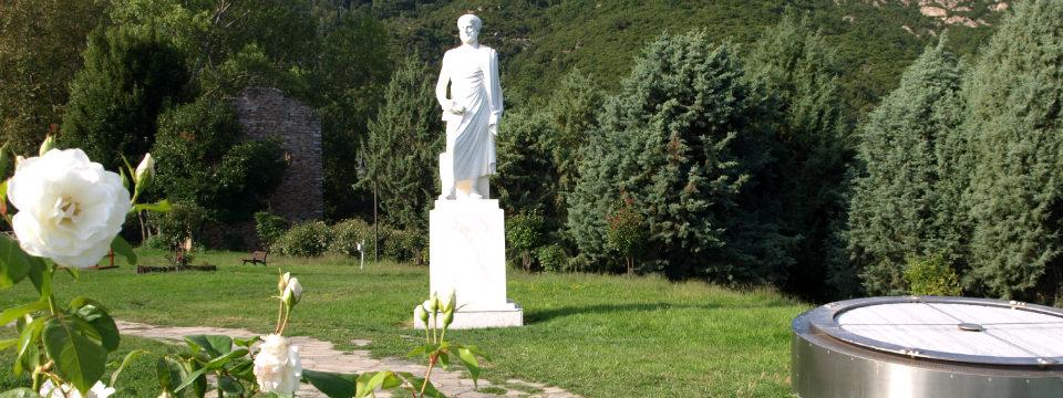 Chalkidiki vakantie Aristoteles park stagira header.jpg