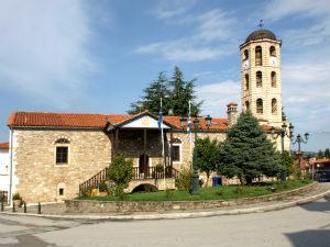 Agios Stefanos kerk in Arnea Chalkidiki