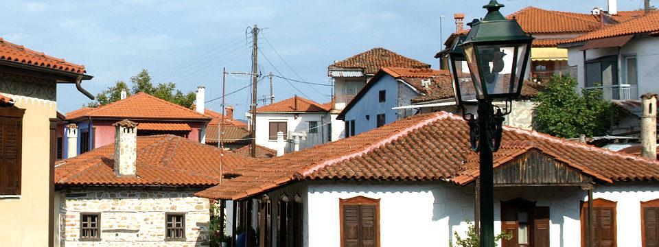 Chalkidiki vakantie Arnea dorp header.jpg