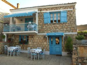 Athytos traditioneel gebouw