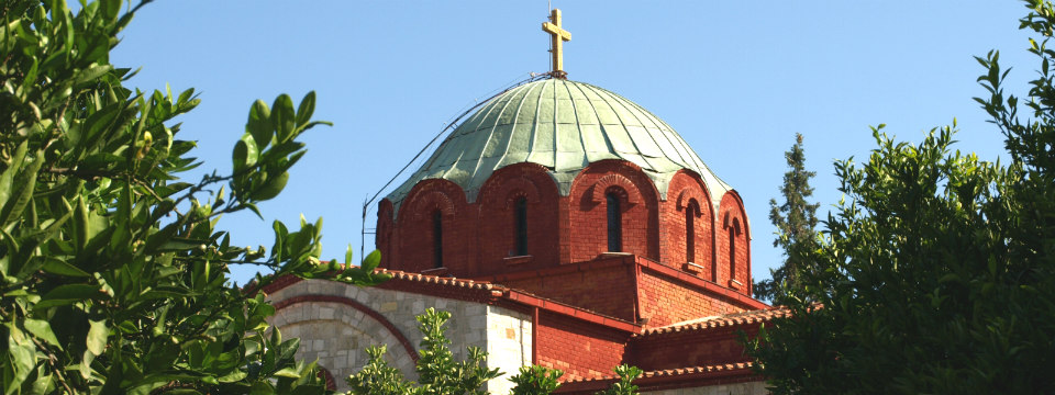 Chalkidiki vakantie Pefkochori kerk header.jpg