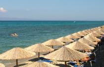 Hanioti strand op Chalkidiki