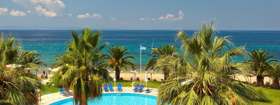 hotel aan het strand griekenland