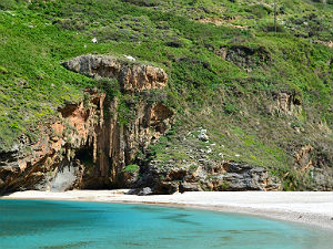 Agios Dimitrios beach Evia
