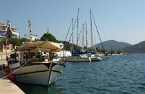 porto Koufo haven op Chalkidiki