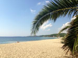 Strand van Toroni op Chalkidiki