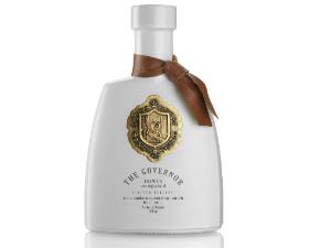 De beste olijfolie ter wereld The Governor op Corfu fles