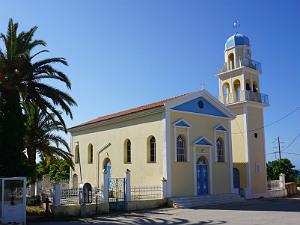 Klismata op Kefalonia de kerk