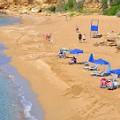 Svoronata Ammes beach op Kefalonia