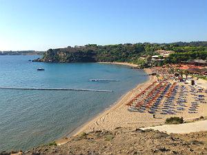 Vassilikos strand op Zakynthos