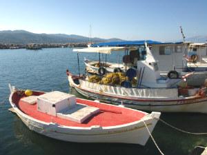 Alykanas haventje op Zakynthos