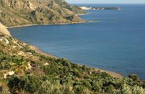 Dafni beach op Zakinthos