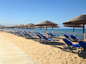 Vassilikos op Zakynthos Banana beach