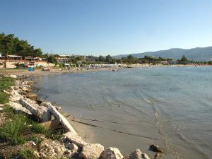 Alykanas baai en strand Zakynthos