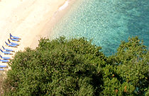Makris Gialos beach op Zakynthos