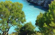 Xigia beach op Zakynthos