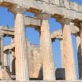 Afaia tempel tijdens vakantie op Aegina