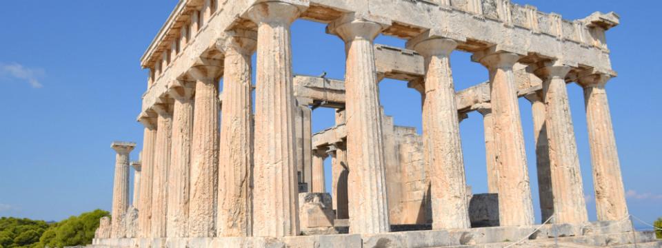 Aegina vakantie Afaia tempel header.jpg
