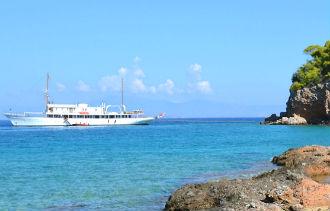 Agistri eiland Griekenland