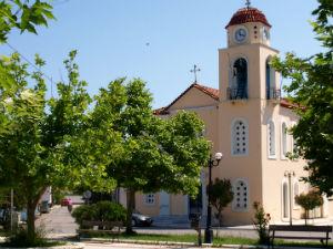 Chrani vakantie op de Peloponnesos