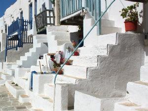 Eilandhoppen op de Cycladen Folegandros