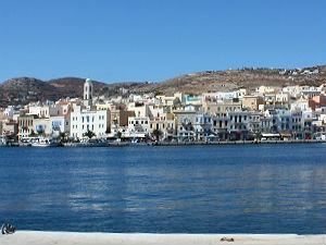 Eilandhoppen over de Cycladen Syros