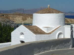 Kolossaal en ridderlijk Rhodos - kerk