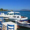 Lygia haventje op Lefkas tijdens vakantie
