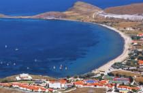 Platy op Limnos Griekenland