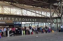 Vliegveld Thessaloniki Griekenland