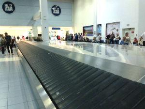 Zakynthos vliegveld Griekenland aankomsthal