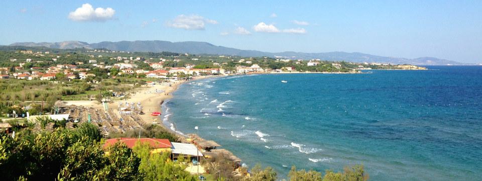 Zakynthos vakantie Tsilivi baai strand header.jpg