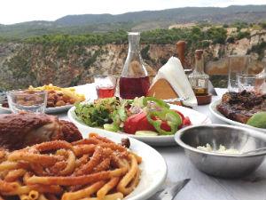 Michali's taverna restaurant tip Zakynthos