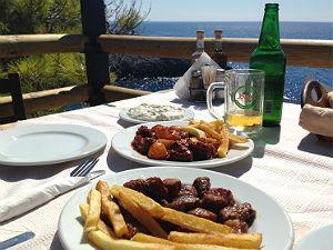 Porto Limnionas restaurant tip Zakynthos
