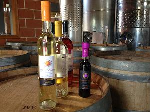 Lefkas Earth winery verschillende wijnen