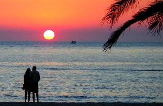 Agios Ioannis beach op Limnos Griekenland